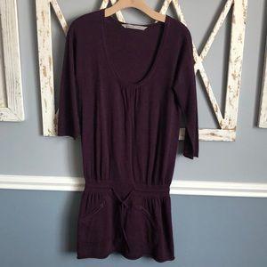 Athleta   Purple Sweater Dress
